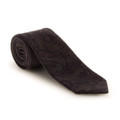 Fall 2017 Best of Class Brown-on-Brown Paisley 'Seasonal' Woven Wool and Cotton Tie by Robert Talbott