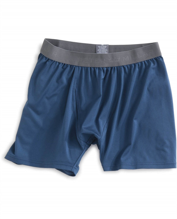 Solid Stretch Jersey Performance Boxer Brief in Midnight by Peter Millar