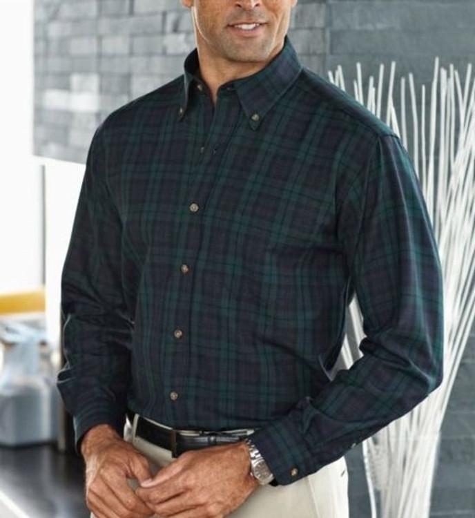 Black Watch Tartan Sir Pendleton Wool Shirt by Pendleton