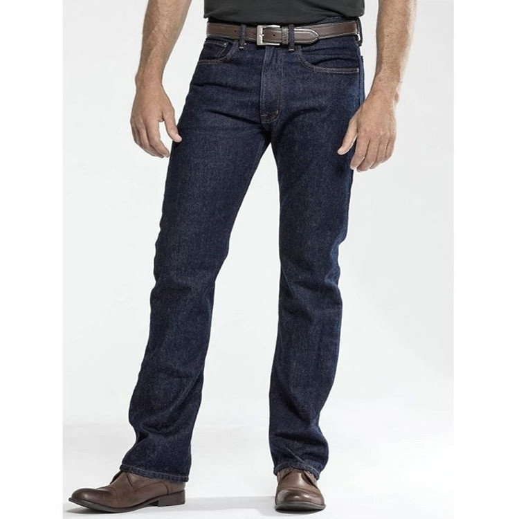 The Standard Jean in Indigo Denim by Pendleton
