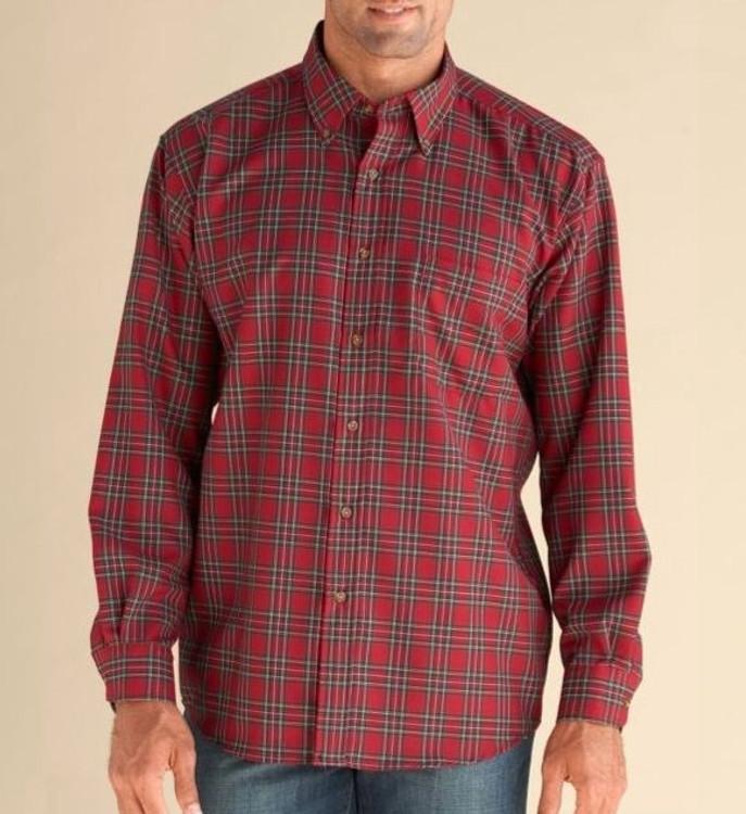 Red Stewart Tartan Sir Pendleton Wool Shirt by Pendleton