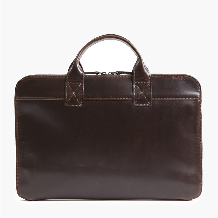 Frances Slim Portfolio in Brompton Brown by Moore & Giles