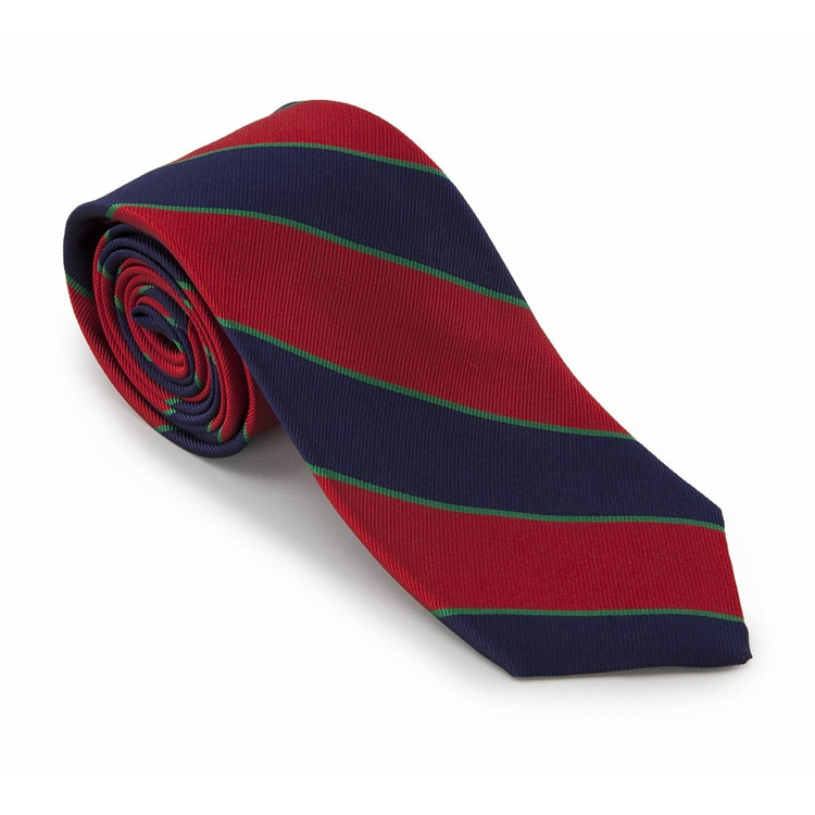 'Royal Dublin Fusiliers' British Regimental Tie by Robert Talbott