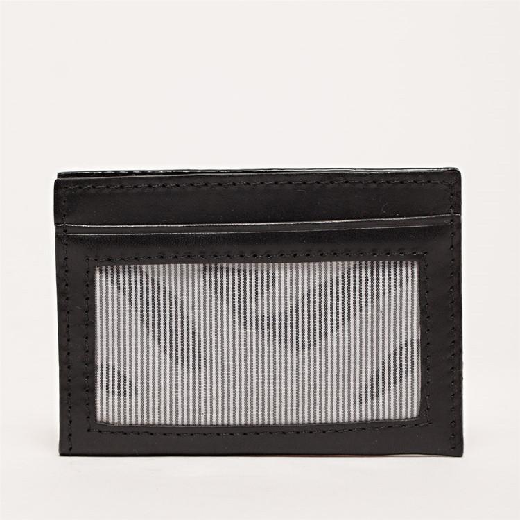 License Wallet in Brompton Black by Moore & Giles