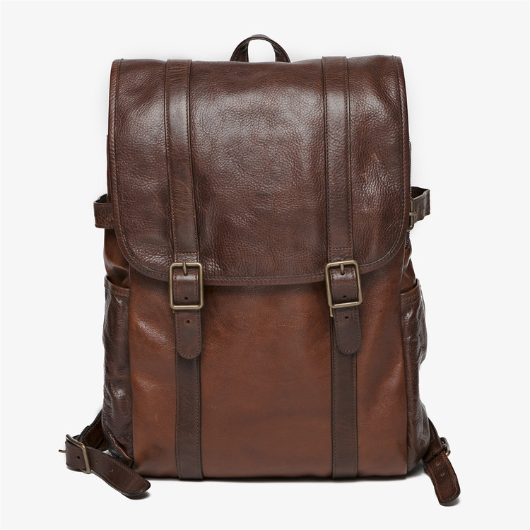 Crews Backpack in Titan Milled Honey by Moore & Giles
