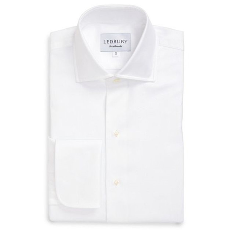 The Tuxedo Spread Shirt by Ledbury