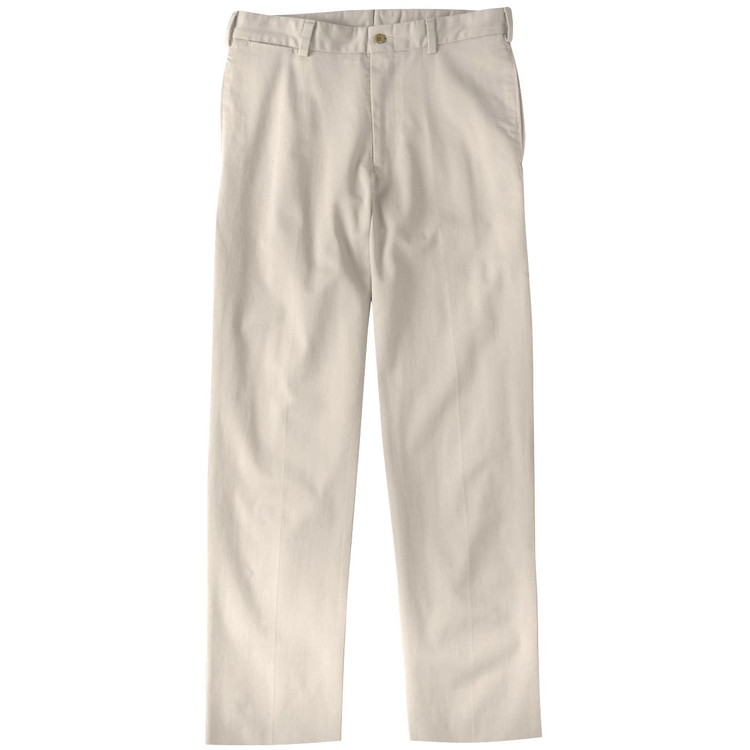 Original Twill Pant - Model M2 Standard Fit Plain Front in Cement by Bills Khakis