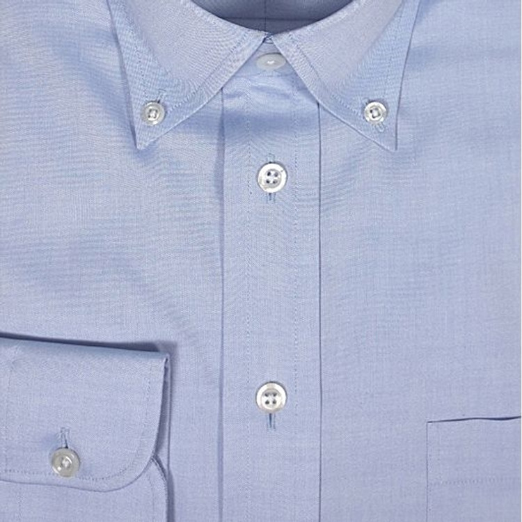 Sky Blue Ultimate Oxford Shirt (Size 15 1/2 - 35) by Robert Talbott