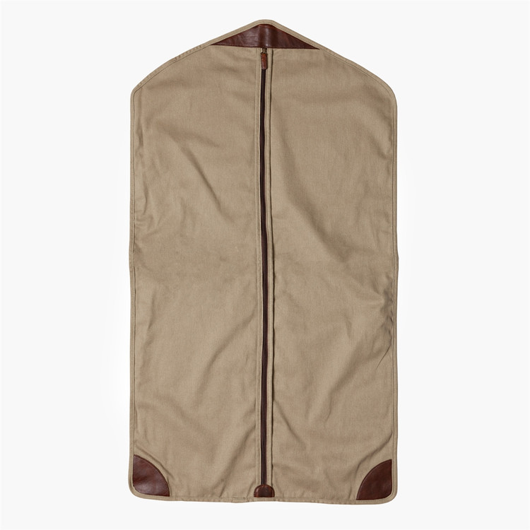 Holton Garment Sleeve in Brushed Twill Tan by Moore & Giles