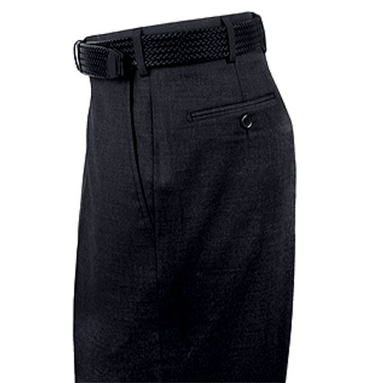 Ultra-Fine 14-Micron Wool Flat Front Trouser in Navy (Size 34) by St. Croix