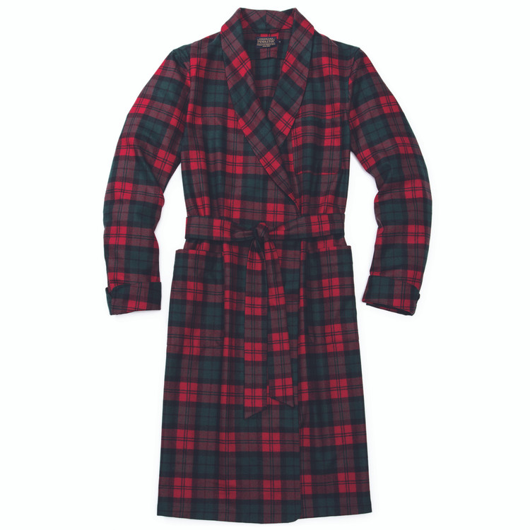 Washable Whisperwool Lounge Robe in McCormick Dress Tartan (Size Medium) by Pendleton