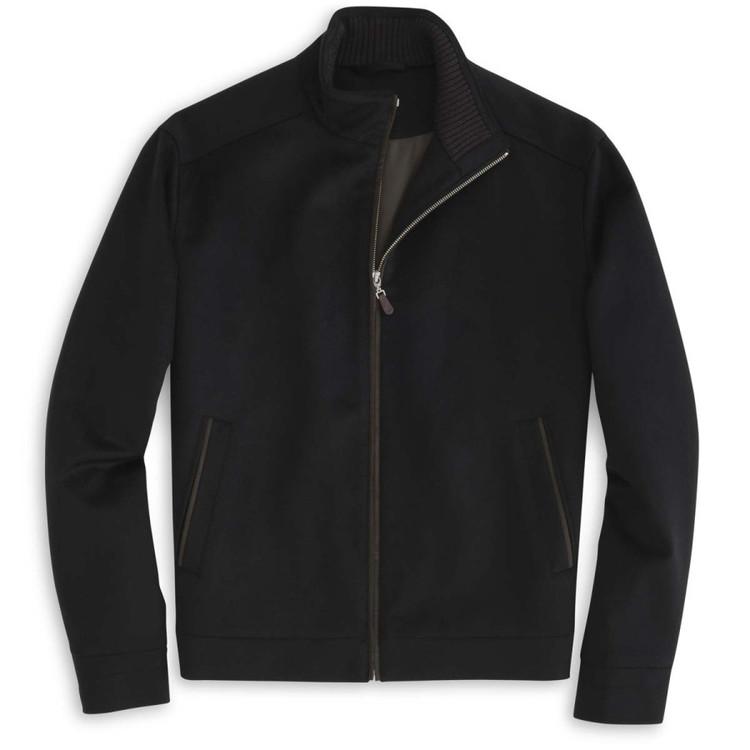 Westport Wool-Cashmere Jacket in Black (Size X-Large) by Peter Millar
