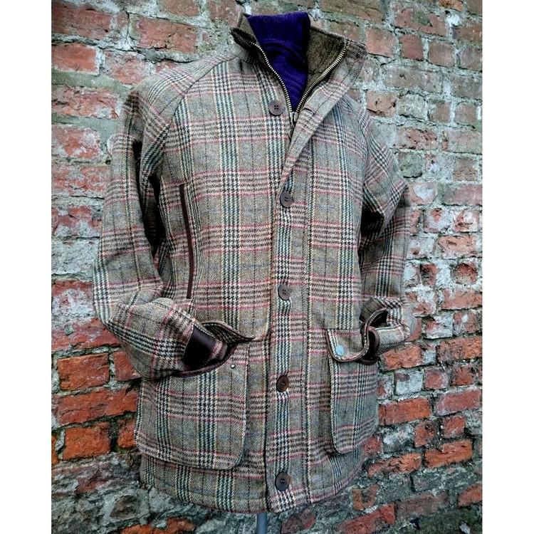 Prufrock Tweed Waterproof Wool Jacket (Size Large) by English Utopia