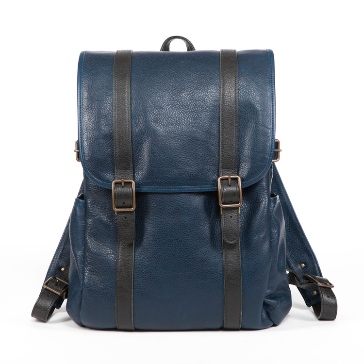 Crews Backpack in Titan Milled Navy by Moore & Giles