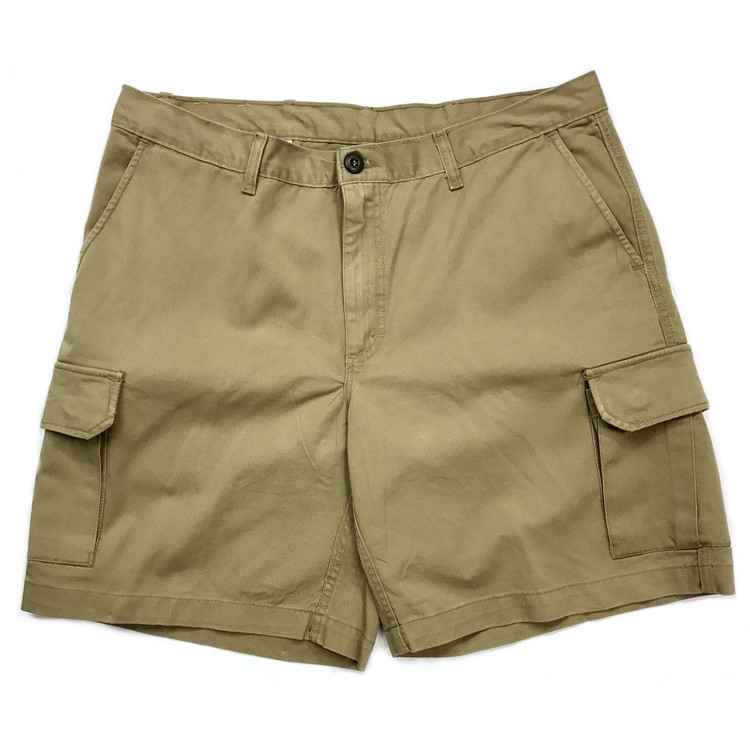 Twill Cargo Short in British Khaki (Size 38) by Bills Khakis