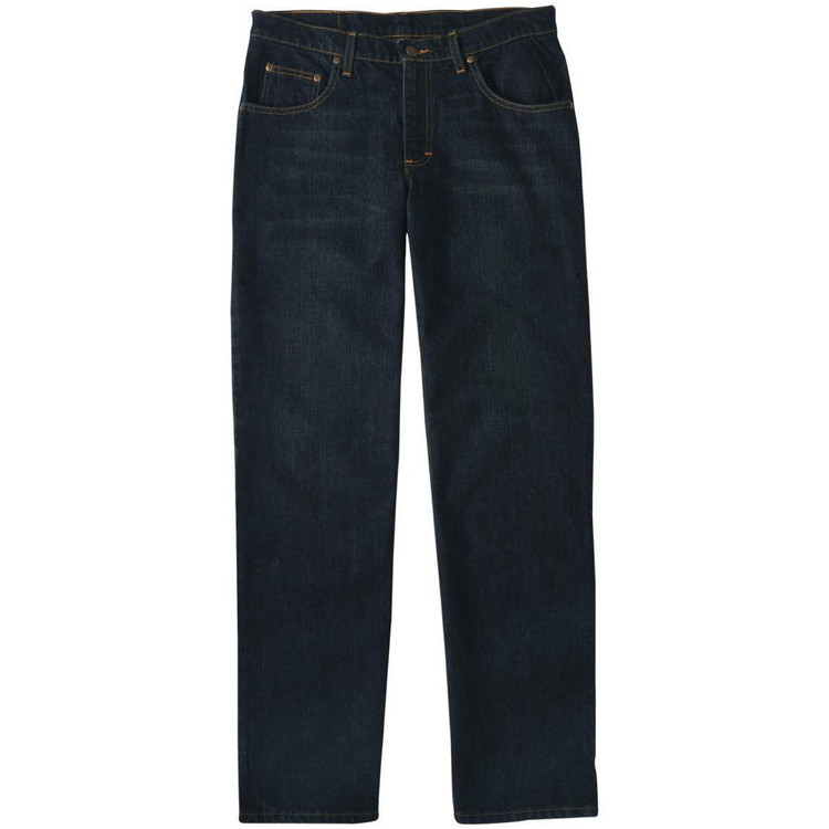 5 Pocket Classic Fit Denim Jean in Rinse Wash by Bills Khakis