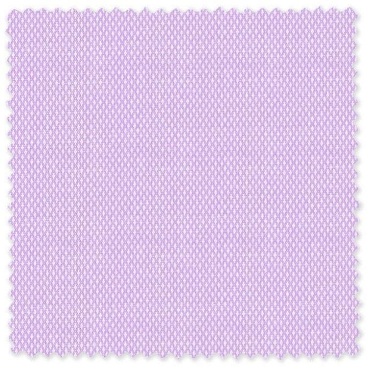 Lilac Diamond 80's 2-Ply Cotton Broadcloth Custom Dress Shirt by Skip Gambert