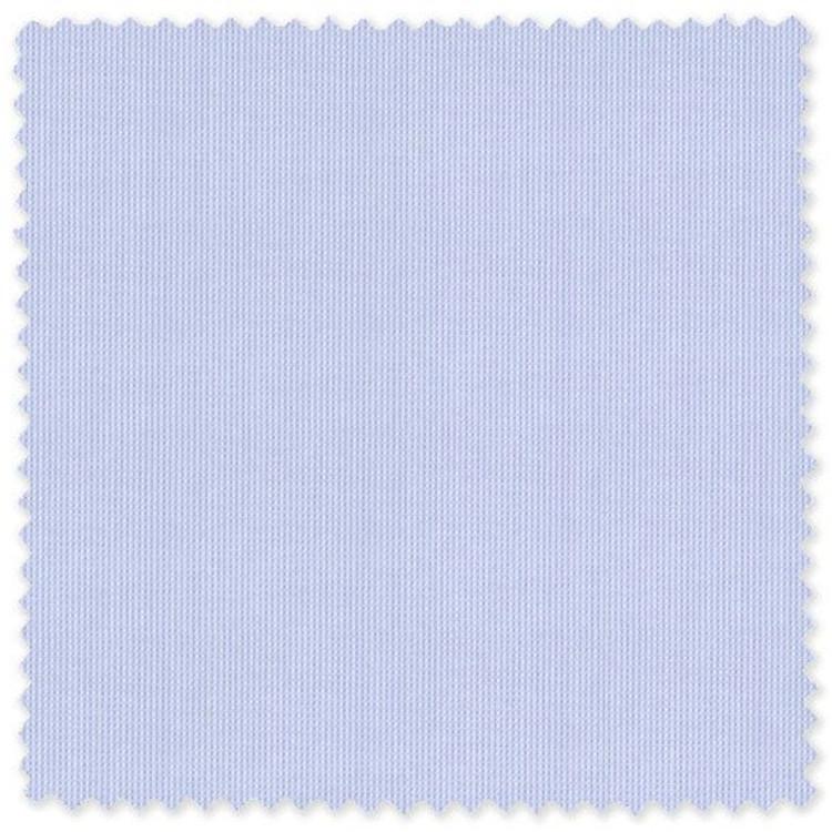 Light Blue Pique 100's 2-Ply Cotton Broadcloth Custom Dress Shirt by Skip Gambert
