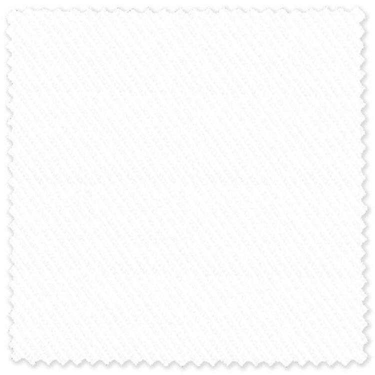White Diagonal Stripe 80's 2-Ply Cotton Broadcloth Custom Dress Shirt by Skip Gambert