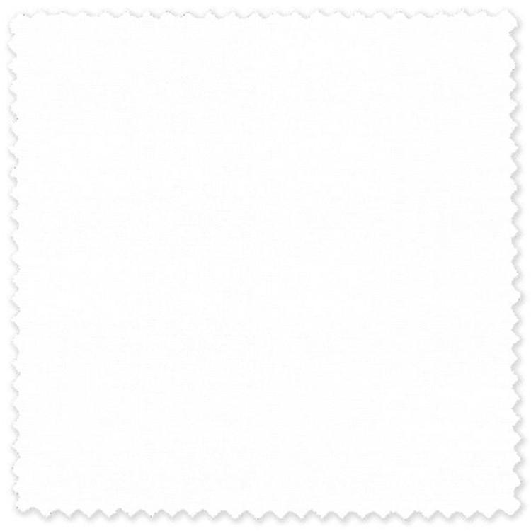 White Pic/Pic 80's 2-Ply Cotton Broadcloth Custom Dress Shirt by Skip Gambert