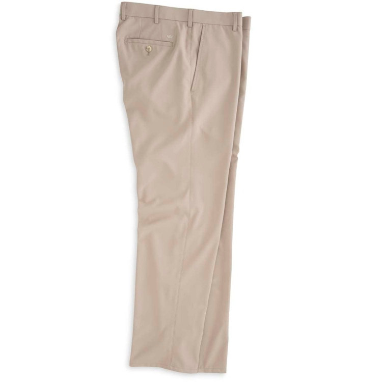 Durham 'Crown Sport' Performance Pant in Khaki by Peter Millar
