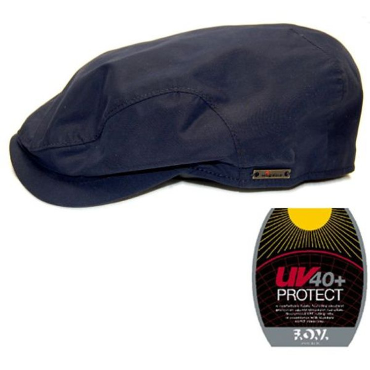 Navy UV40+ Sun Protection Cap by Wigens