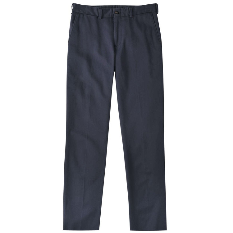 Original Twill Pant - Model M3 Trim Fit Plain Front in Navy by Bills Khakis
