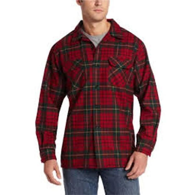 Pendleton Red Tartan Board Shirt (Size Medium) by Pendleton
