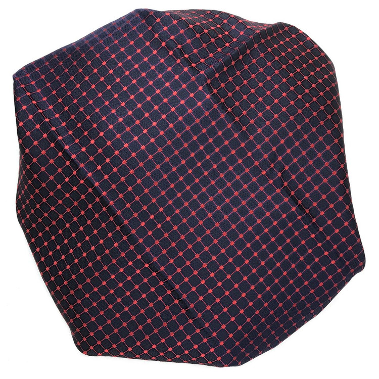Custom Made Navy, Black, and Red Best of Class Silk Tie by Robert Talbott