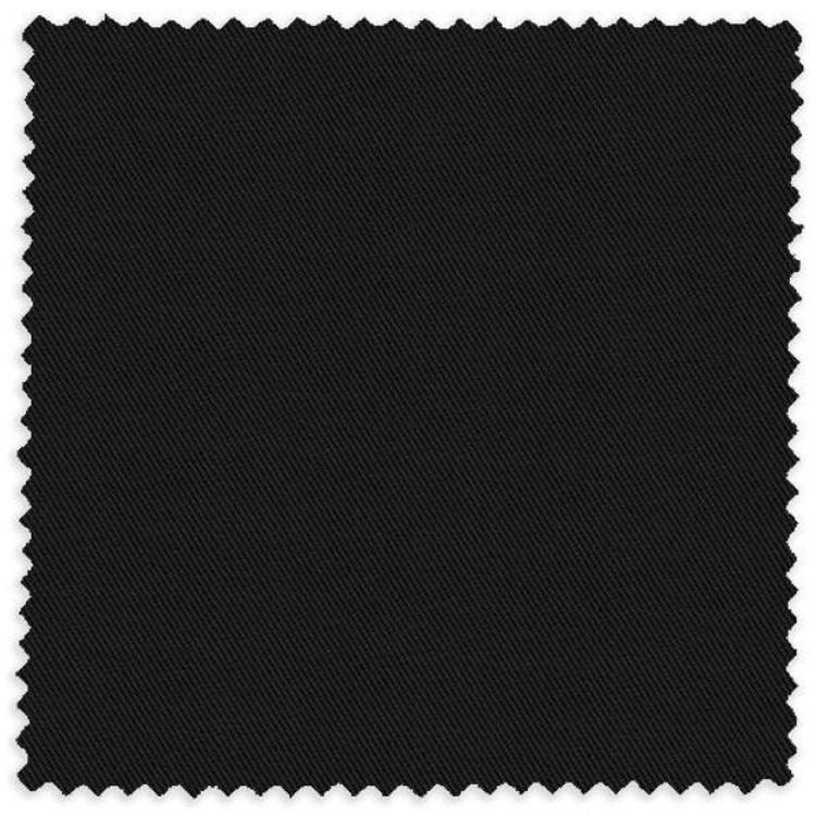 Black Solid Twill Custom Dress Shirt by Robert Talbott