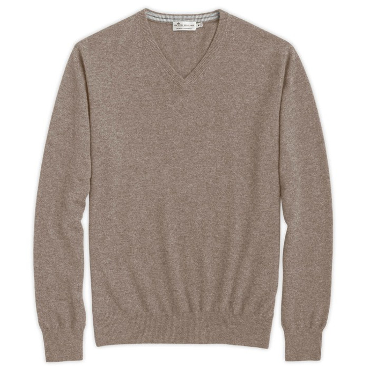 Cashmere V-Neck Sweater in Astro by Peter Millar