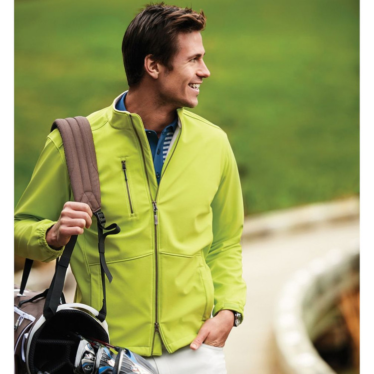 Anchorage Three-Layer Softshell Jacket in Poison by Peter Millar
