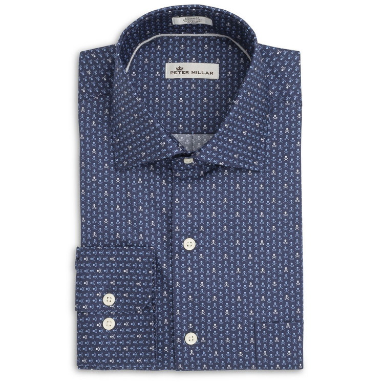 Marauder Sport Shirt in Tahoe Blue by Peter Millar