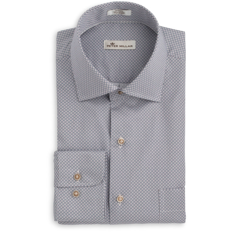 Petite Fleur Sport Shirt in Blackberry by Peter Millar