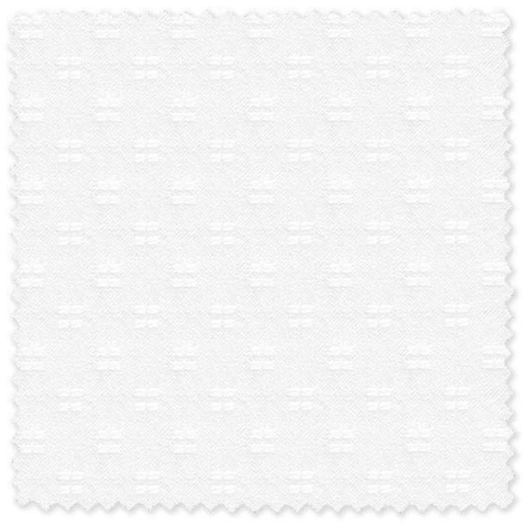 White on White 100% Cotton Twill Custom Dress Shirt by Skip Gambert