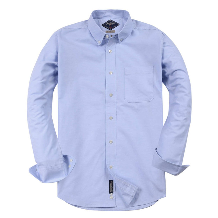 Classic Oxford Shirt in Light Blue by Bills Khakis