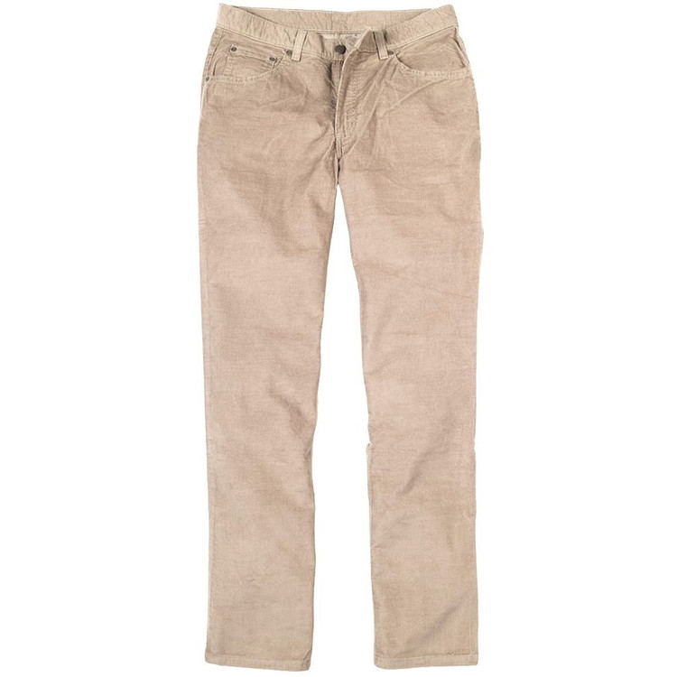 Five Pocket 14 Wale Corduroy Jeans in Cement (Size 40) by Bills Khakis