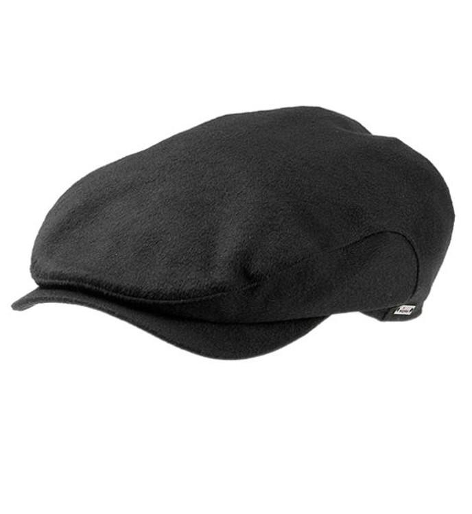 'Hans LP' Loro Piana Storm System Wool Earflap Cap in Black (Size 60) by Wigens