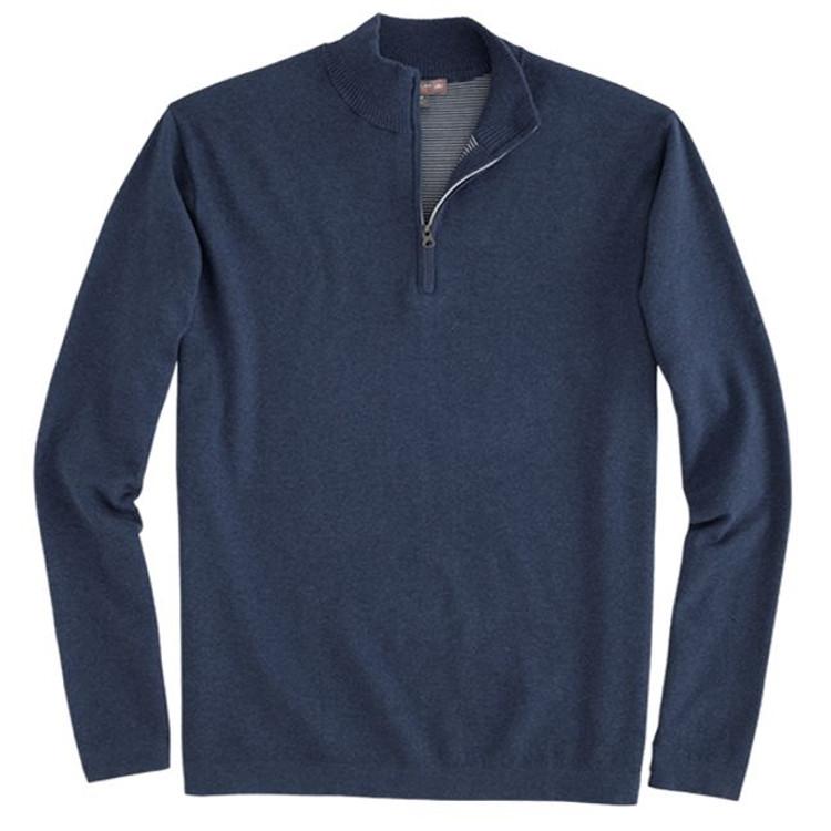Salisbury Quarter-Zip 'Crown Sport' Performance Sweater in Midnight by Peter Millar