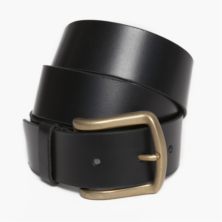 Antique Douglas Belt in Black by Moore & Giles