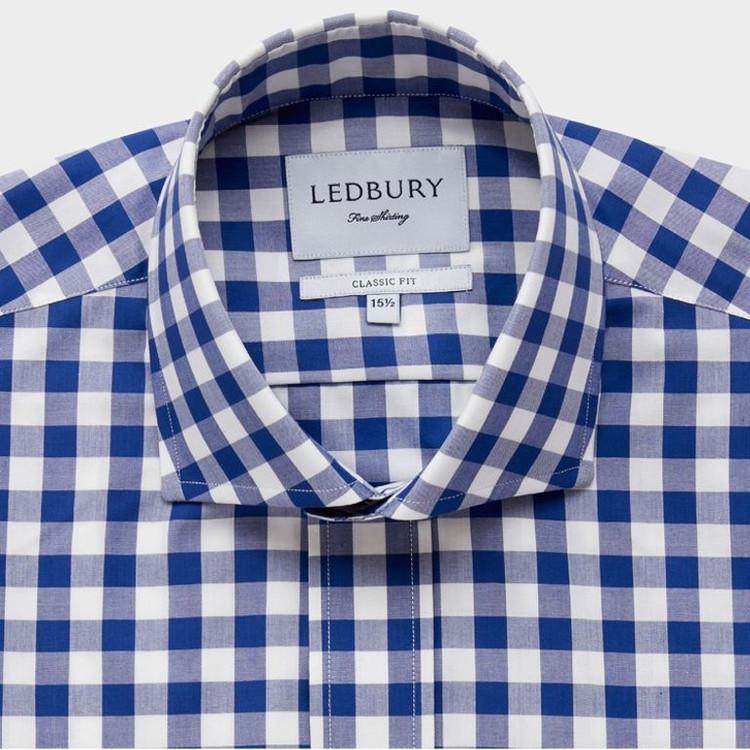 The Blue McGuire Dress Shirt by Ledbury