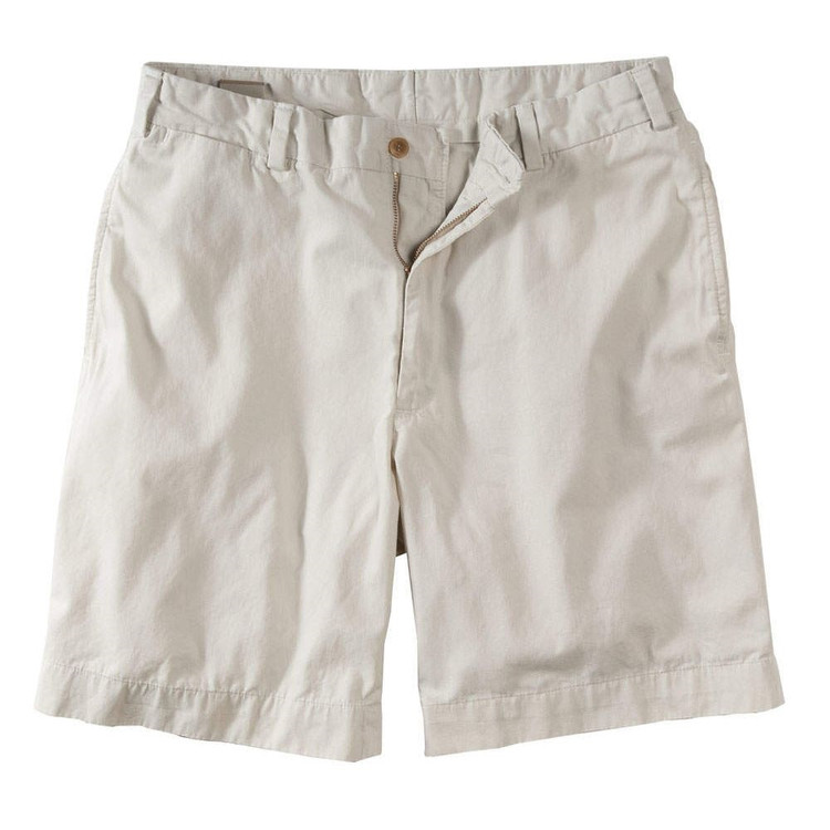 Lightweight Cotton Poplin Short in Stone (Model M1, Size 31) by Bills Khakis