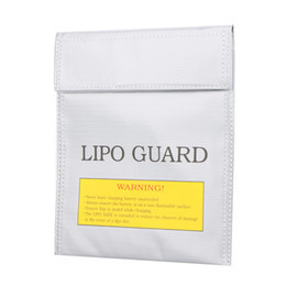 LiPo Safe Charging / Storage Bag White