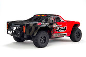ARRMA SENTON 4X4 SHORT COURSE TRUCK, RED/BLACK WITH BATTERY & CHARGER