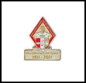 KAY 100 Year Lapel Pin