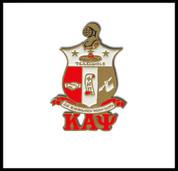 KAY Shield Lettered Lapel Pin