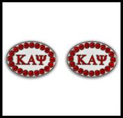 KAY Cuff Links w/Swarvoski Crystals