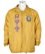 QUE Old Gold Signature Line Jacket