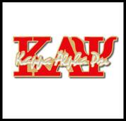 KAY Red Signature Lapel Pin