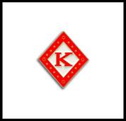Kappa Alpha Psi Diamond K Lapel Pin